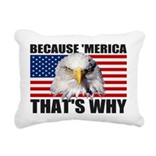 Because MERICA Thats Why US Flag American Eagle Re