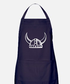Viking Helmet Apron (dark)