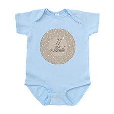 Vintage Lace Milestone 11 Months Infant Bodysuit