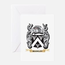 Buckley Family Crest - Buckley Coat Greeting Cards