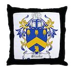 Starke Coat of Arms Throw Pillow