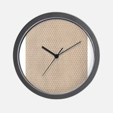 Vintage Fish Net Lace Wall Clock