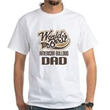 American bulldogs Mens White T-shirts