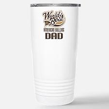 American Bulldog Dad Travel Mug