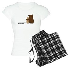 Bear with Me Design Pajamas
