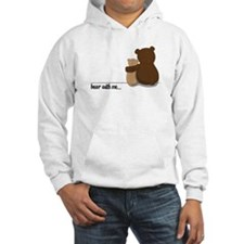 Bear with Me Design Hoodie