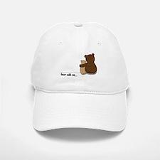 Bear with Me Design Baseball Baseball Cap
