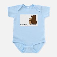 Bear with Me Design Infant Bodysuit
