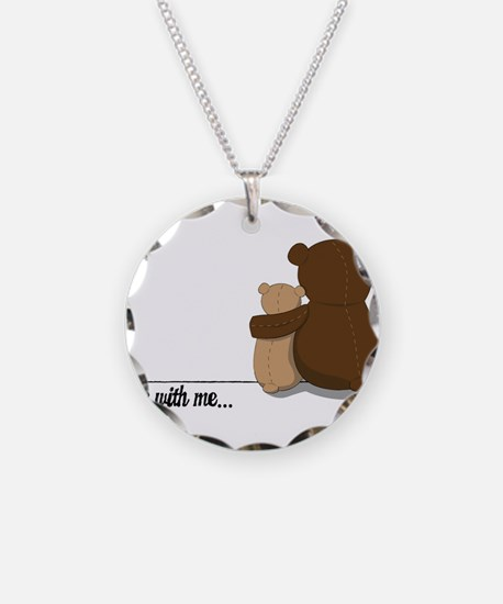 Bear with Me Design Necklace