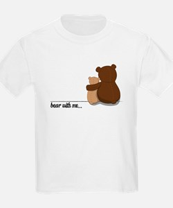 Bear with Me Design T-Shirt