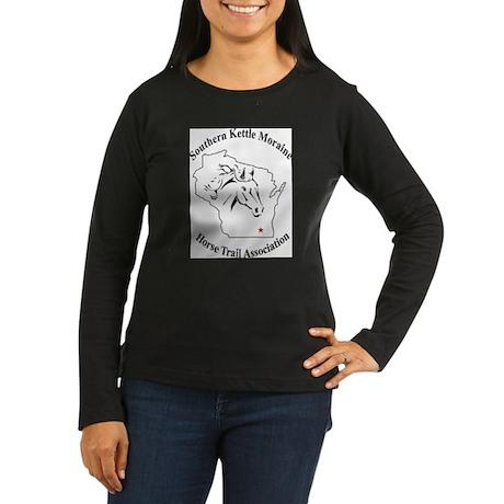 SKMHTA logo Women's Long Sleeve Dark T-Shirt