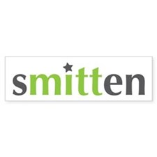 sMITTen for Mitt Romney. Green/Grey Bumper Bumper Sticker