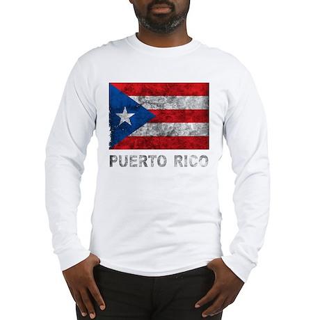 Vintage Puerto Rico Long Sleeve T-Shirt