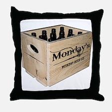 Case of the Mondays Cartoon Edition Throw Pillow