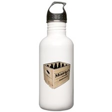 Case of the Mondays Cartoon Edition Water Bottle