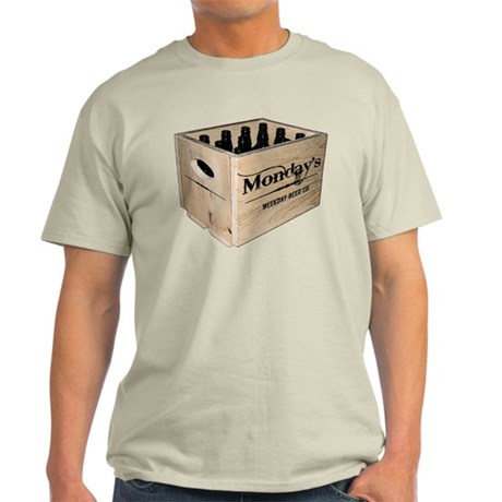 Case of the Mondays Cartoon Edition Light T-Shirt