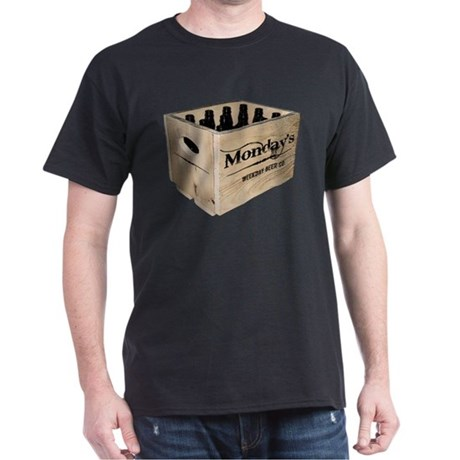 Case of the Mondays Cartoon Edition Dark T-Shirt