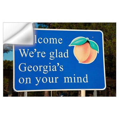 Welcome to Georgia Wall Decal