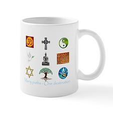 Many paths - One destination Mug