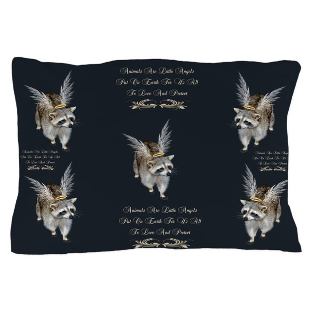 Doomagic Animal Pillow Case : Animals Are Little Angels Pillow Case by Laurie77