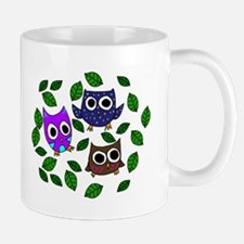 Three Happy Owls Mug