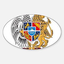 Armenian Coat of Arms Rectangle Decal