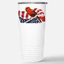 USA Cardinal Stainless Steel Travel Mug