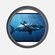 Great White Shark Wall Clock