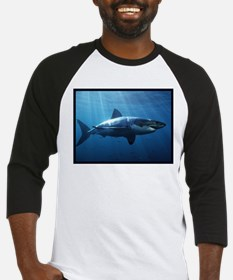Great White Shark Baseball Jersey