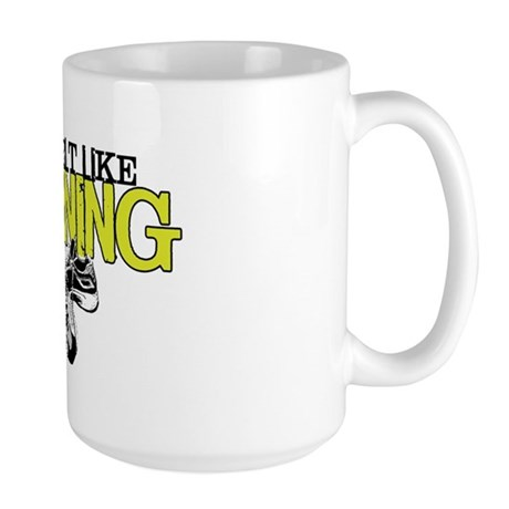 Felt Like Running Large Mug