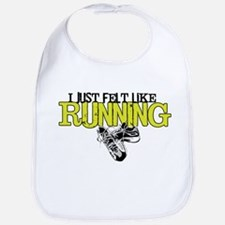 Felt Like Running Bib