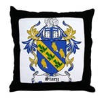Stacy Coat of Arms Throw Pillow