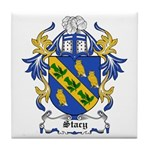 Stacy Coat of Arms Tile Coaster