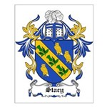 Stacy Coat of Arms Small Poster