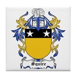 Squire Coat of Arms Tile Coaster