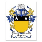 Squire Coat of Arms Small Poster