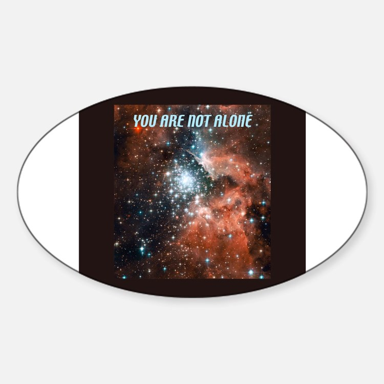 You are not alone in the universe. Decal