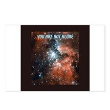 You are not alone in the universe. Postcards (Pack