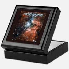 You are not alone in the universe. Keepsake Box