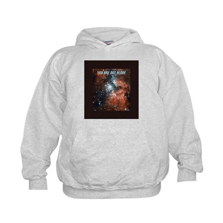 You are not alone in the universe. Kids Hoodie