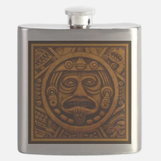Aztec Calendar Dec 21 2012 Flask