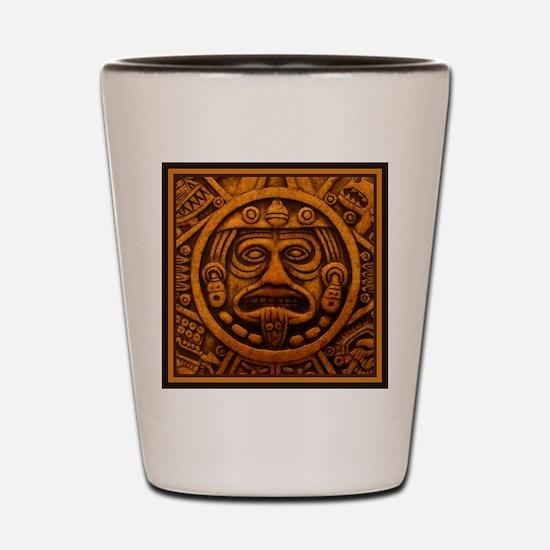 Aztec Calendar Dec 21 2012 Shot Glass