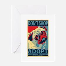 Dont Shop - Adopt Greeting Card