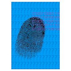 Fingerprint Poster
