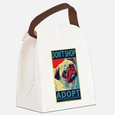 Dont Shop - Adopt! Canvas Lunch Bag