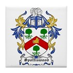 Spottiswood Coat of Arms Tile Coaster