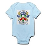 Spottiswood Coat of Arms Infant Creeper