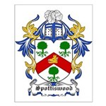 Spottiswood Coat of Arms Small Poster