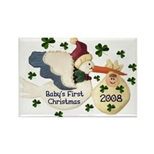Baby's First Christmas Magnets (10 pack)