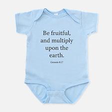 Genesis 8:17 Infant Bodysuit